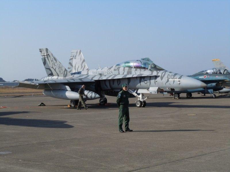 アメリカ海兵隊VFMA(AW)-224「FIGHTING BENGALS」CAG(飛行団指令)機のF/A-18D