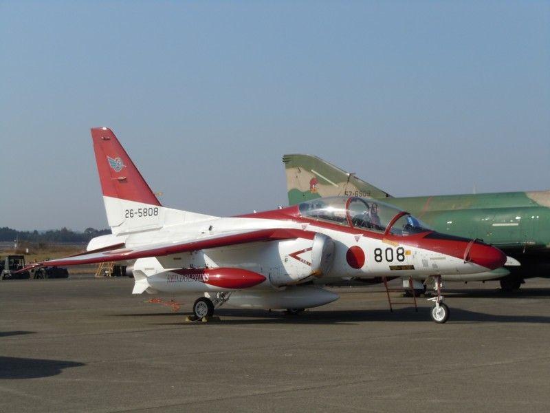 第13飛行教育団のT-4