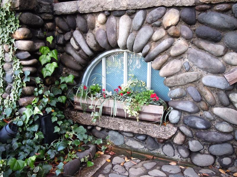 半円形の窓