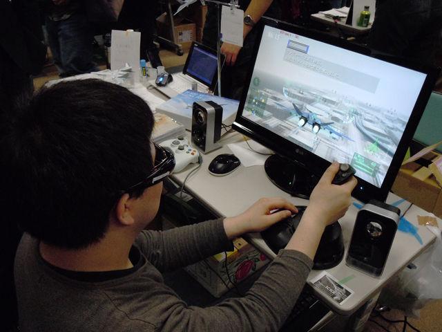 同人ゲーム初の3Dフライトシューティングゲーム