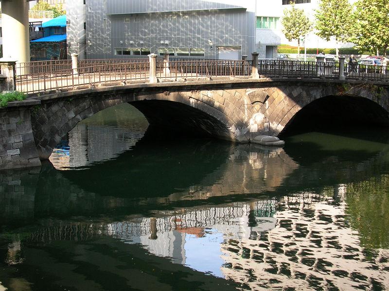 日本橋川の上流にある常磐橋
