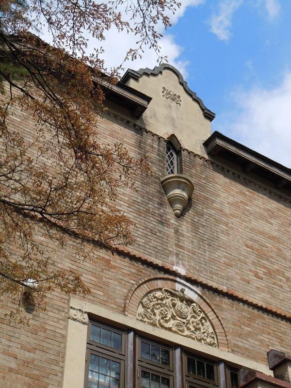 会館棟の上部