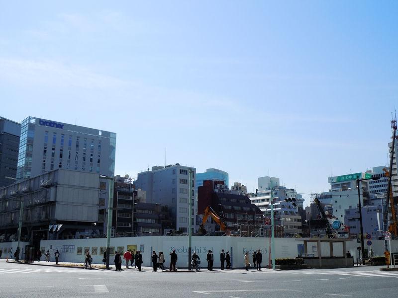 東京・京橋には1922(大正11)年に本社ビルが建てられた。現在の様子。
