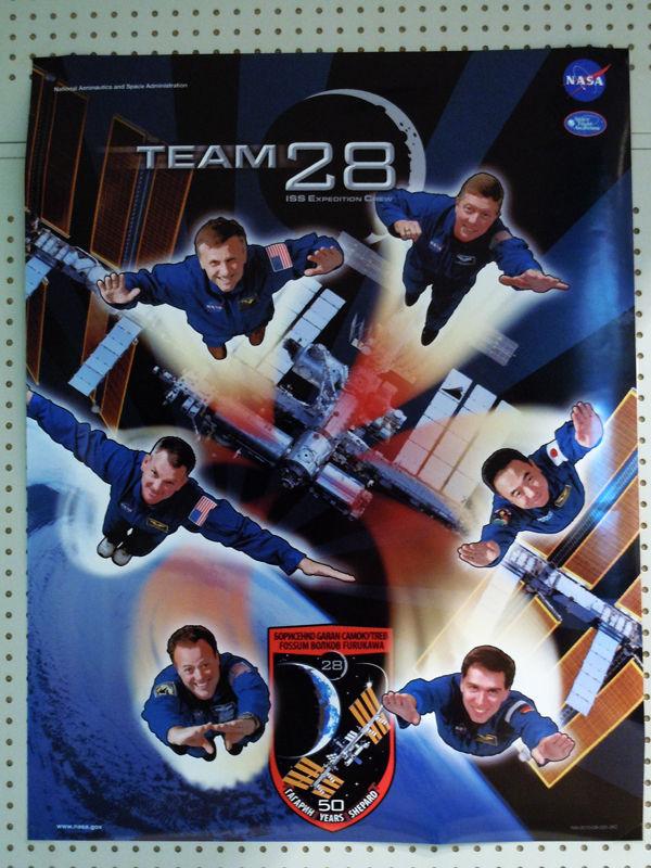 第28次長期滞在(Expedition28)のミッションポスター