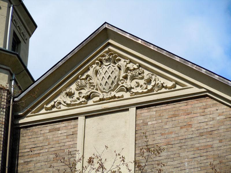 建物各所に施された装飾