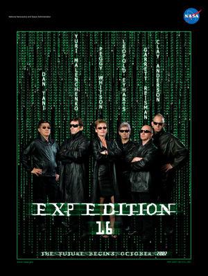 第16次(Expedition16)のミッションポスター