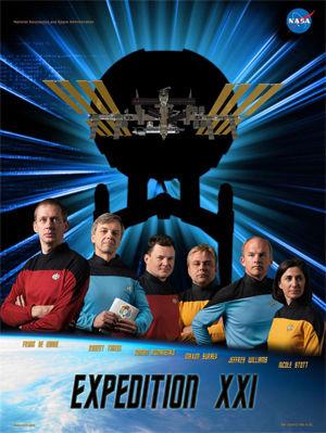 第21次(Expedition21)のミッションポスター