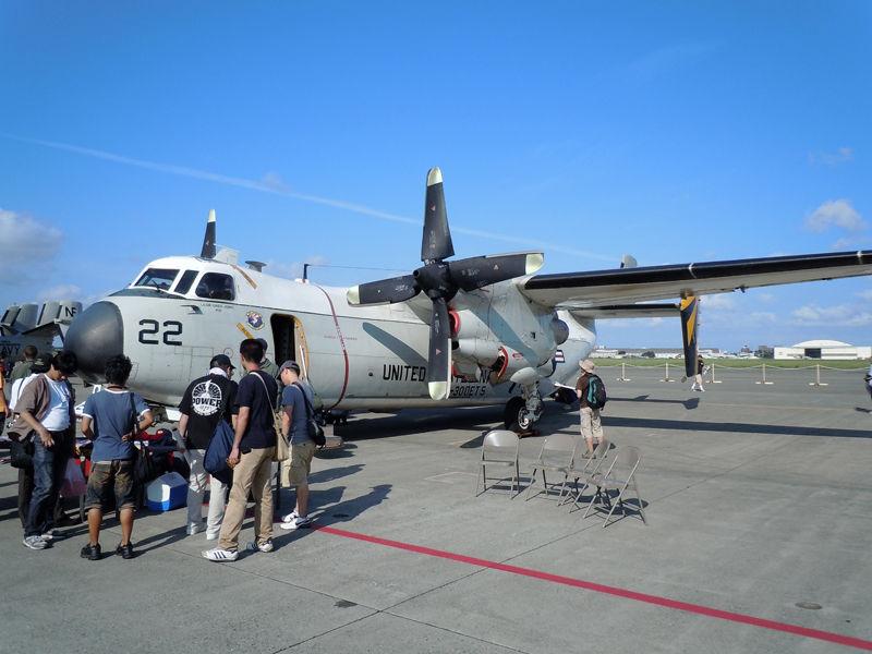艦隊向け輸送飛行隊VRA-30(Det.5)「Providers」のC-2Aグレイハウンド
