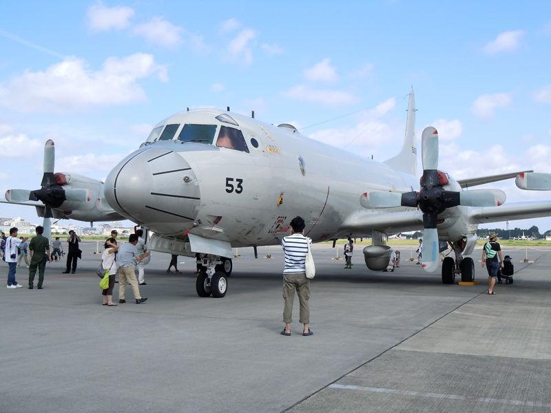 海上自衛隊 厚木航空基地に所属する第3航空隊のP-3C