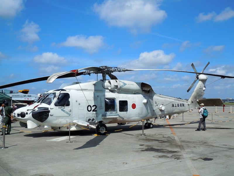 海上自衛隊 厚木航空基地に所属する第51航空隊のSH-60K