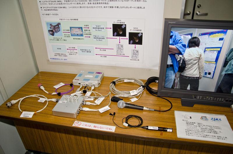 宇宙中継システムの地上訓練モデル