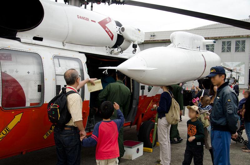第73航空隊の救難ヘリコプターUH-60J(8973号機)