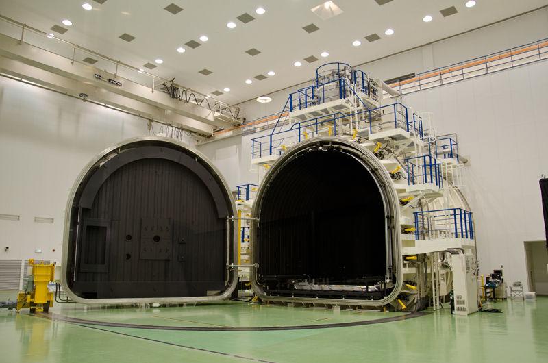 6mφ放射計スペースチャンバ