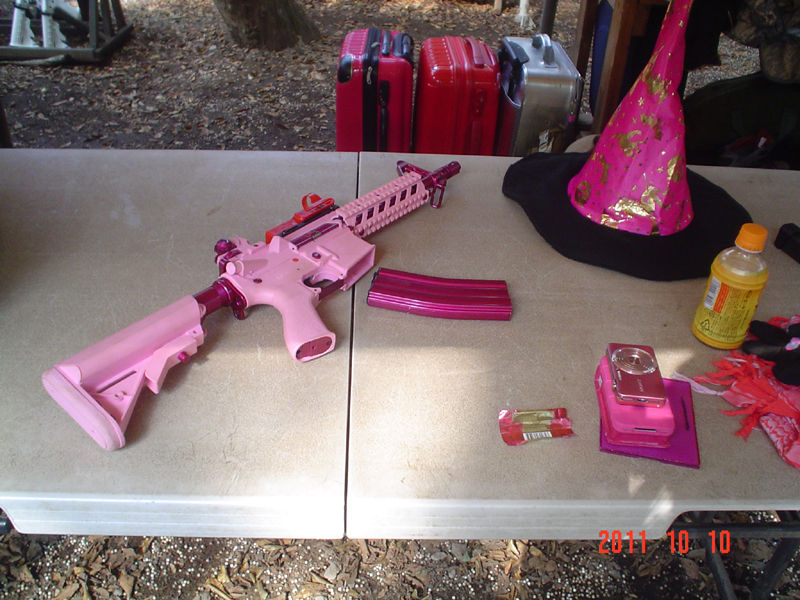 ウピウピ隊のピンク銃