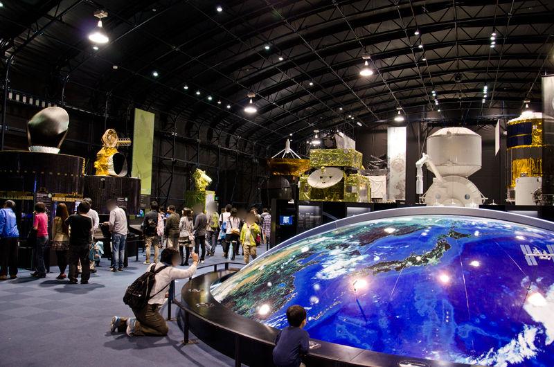 宇宙センター特別公開。次回は「科学技術週間」の2012年4月21日に予定。