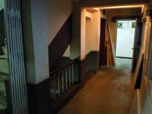 居室部分の廊下はつながっている