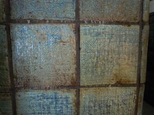 玄関ホールのタイル