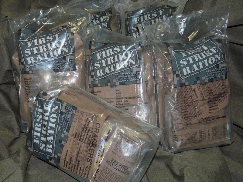 【ミリヲタ的グルメ】第11食 アメリカ軍ファースト・ストライク・レーション