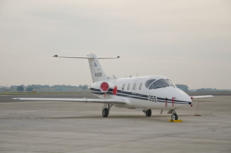 鳥取県の美保基地(米子空港)から第41飛行教育隊のT-400(41-5055)