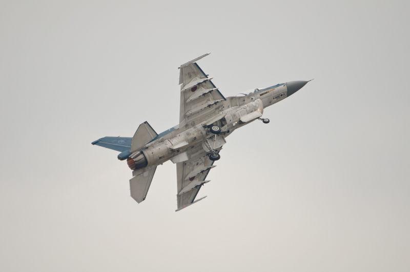 F-2による飛行展示