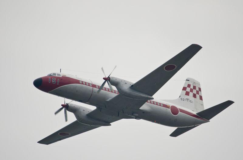 飛行点検隊のYS-11FC