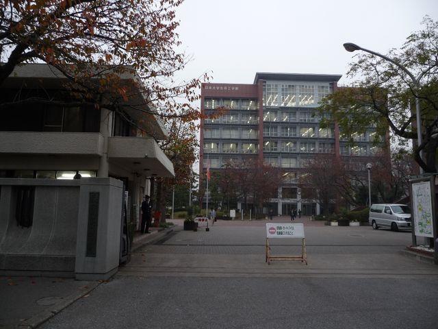 日本大学生産工学部。騎兵第1旅団のうち騎兵第14聯隊がありました。