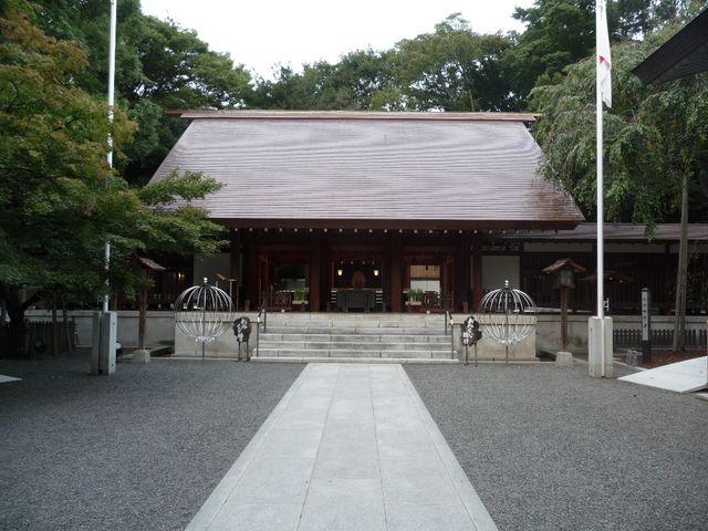 乃木公園の横にあり、乃木を祀っている乃木神社