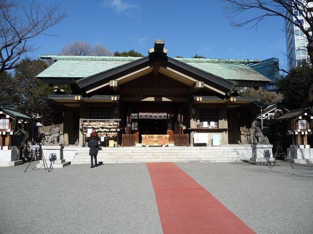 東鄕神社の本殿