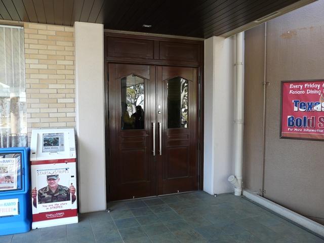 将校クラブ入口