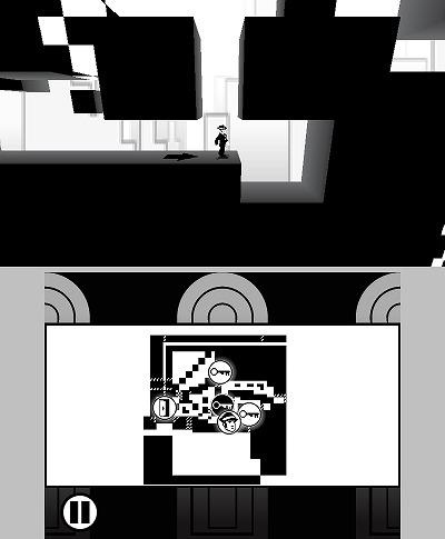 「SHIFTING WORLD白と黒の迷宮」スクリーンショット