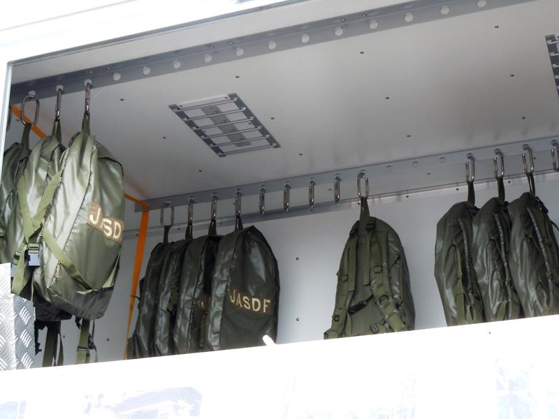 航空自衛隊の新しい災害派遣セット