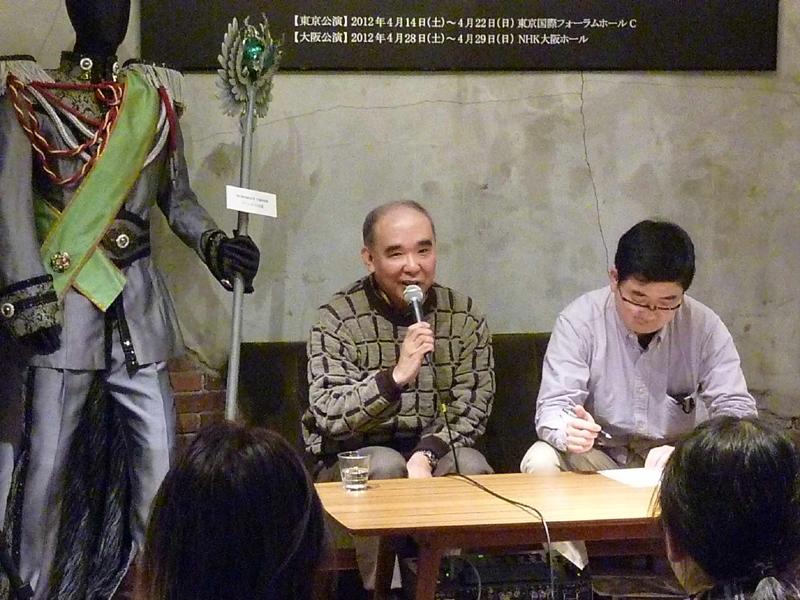 「銀英伝」の生みの親、田中芳樹さんトークイベント