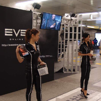 EVE Online、4月14日にJR秋葉駅構内でクライアントDVD配布イベント実施