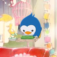 「輪るピングドラム」のペンギン1号が、キャラクター待受アプリのスマコレに登場