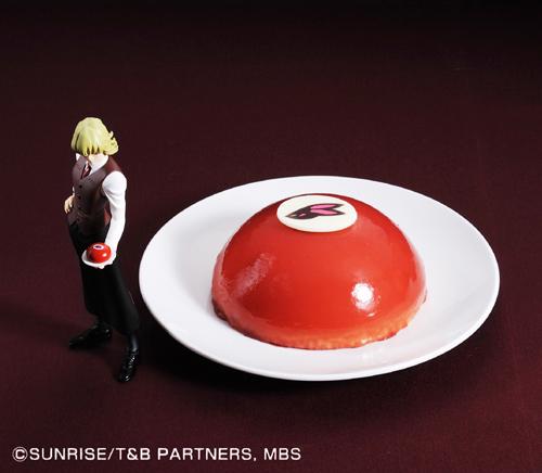 ケーキ「バーナビー・ブルックス Jr.ケーキ」