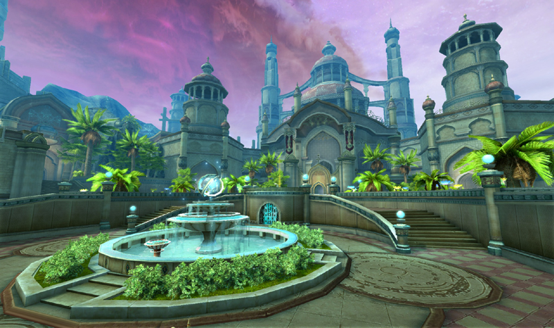 「The Tower of AION」ゲーム内スクリーンショット