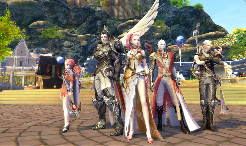 「The Tower of AION」キャラクター