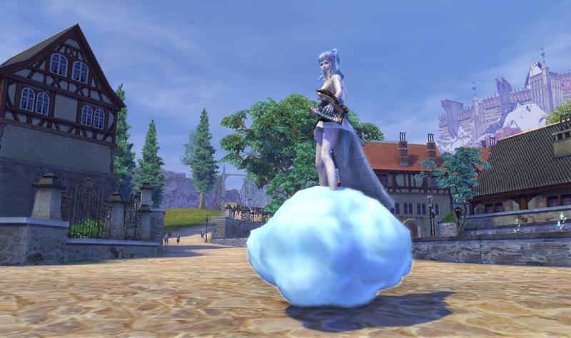 「The Tower of AION」乗り物