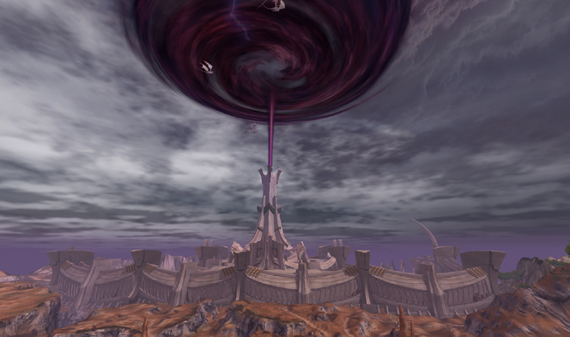 「The Tower of AION」ティアマト城砦(全景)