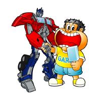 トランスフォーマー「ガリロボ君」が本当に新発売!!剣は「アカギ・ブレード」盾は「サイタマ・シールド」とちょっと微妙