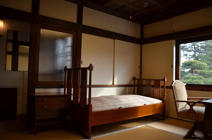 高公氏の寝室