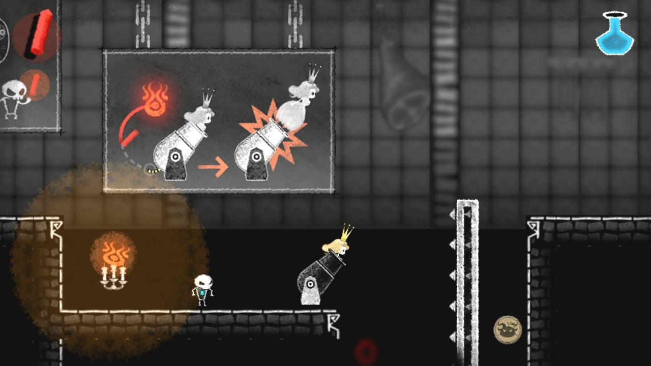 ゲーム内画像(ステージ3「魔界の厨房」)