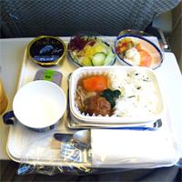 美味しい機内食、まずい機内食……