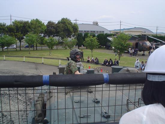 戦車からの光景