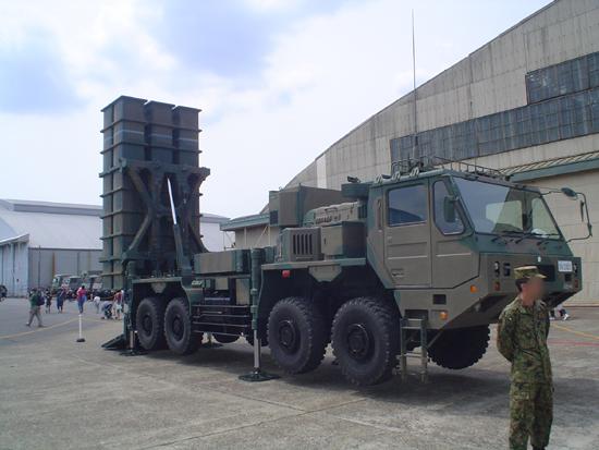 陸上自衛隊03式地対空誘導ミサイル