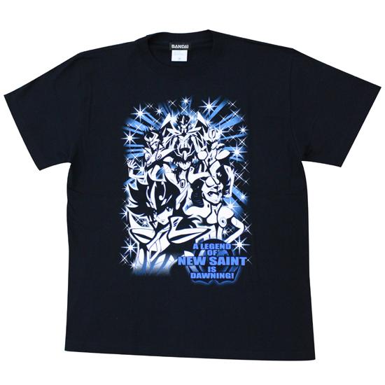 聖闘士星矢Ω Tシャツ 聖闘士集合柄