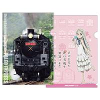 アニメ「あの花」、秩父鉄道とコラボ!「あの花」ヘッドマークがついた7500系も運行!