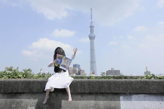 写真集カット(そうだ!スカイツリーへ行こう)