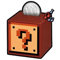 8bit音楽が鳴る「スーパーマリオブラザーズ」のブロック貯金箱が発売