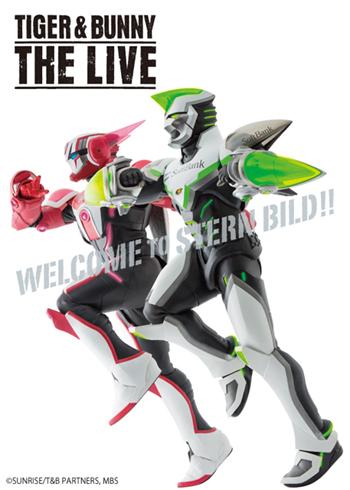 舞台「TIGER & BUNNY THE LIVE」の千秋楽公演がライブ配信決定